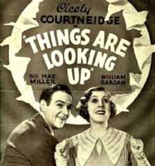 Things Are Looking Up 1935 DVD - Cicely Courtneidge / Mary Lawson